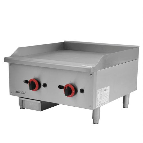Gas Countertop Griddle Dual Control - EGG-24SX